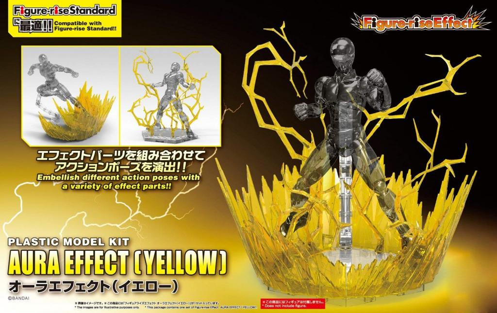 DRAGON BALL - Model Kit - EFFECT - Aura Effect Yellow