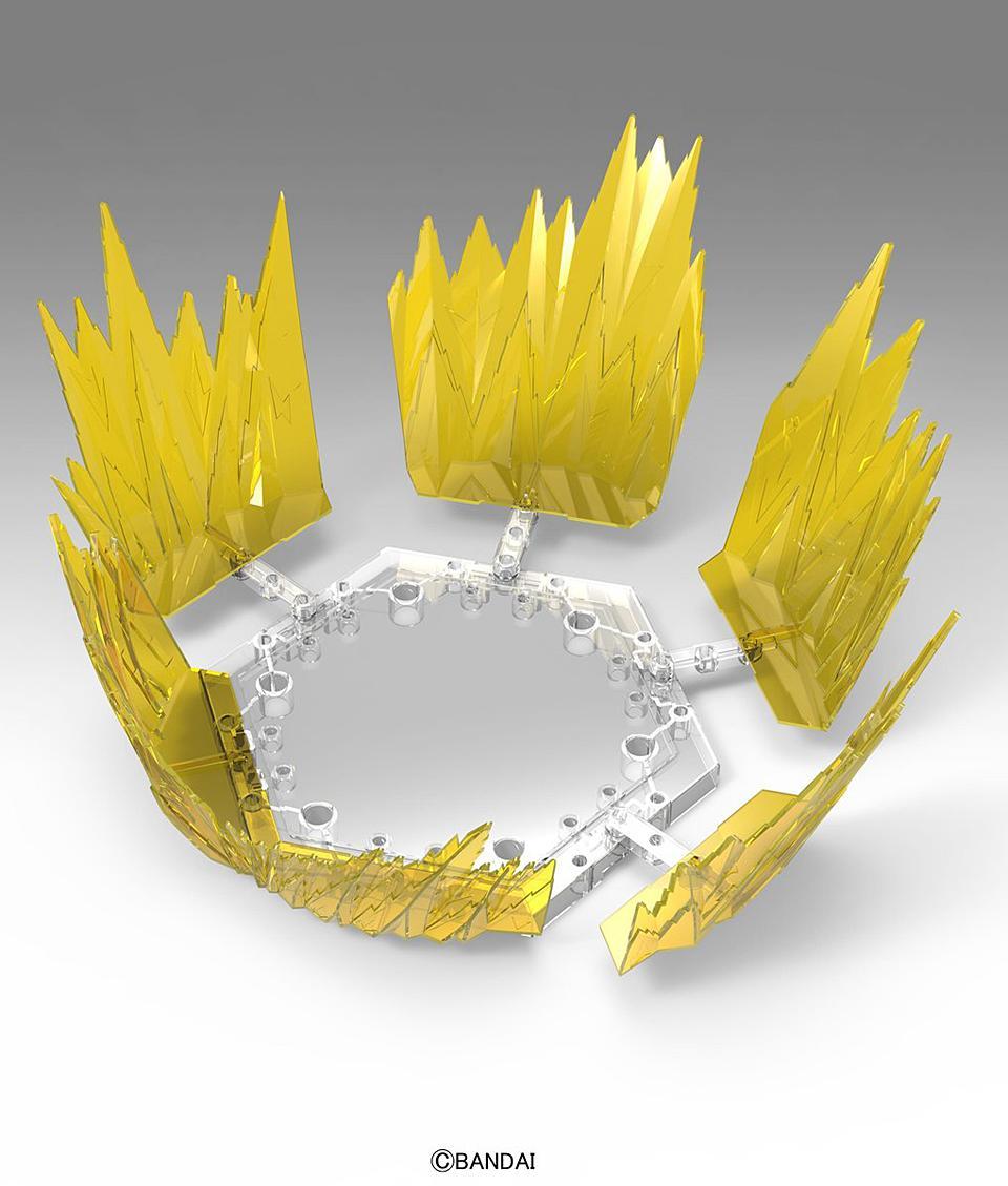 DRAGON BALL - Model Kit - EFFECT - Aura Effect Yellow_3