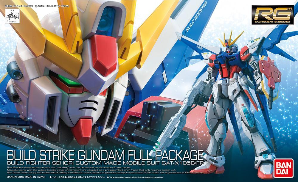 GUNDAM Build Fighters - Model Kit - RG 1/144 - Build Strike Full Pack.