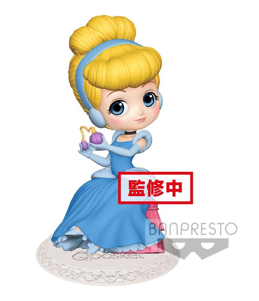 DISNEY - Q Posket Perfumagic Series - Cinderella - Vers. A - 12cm