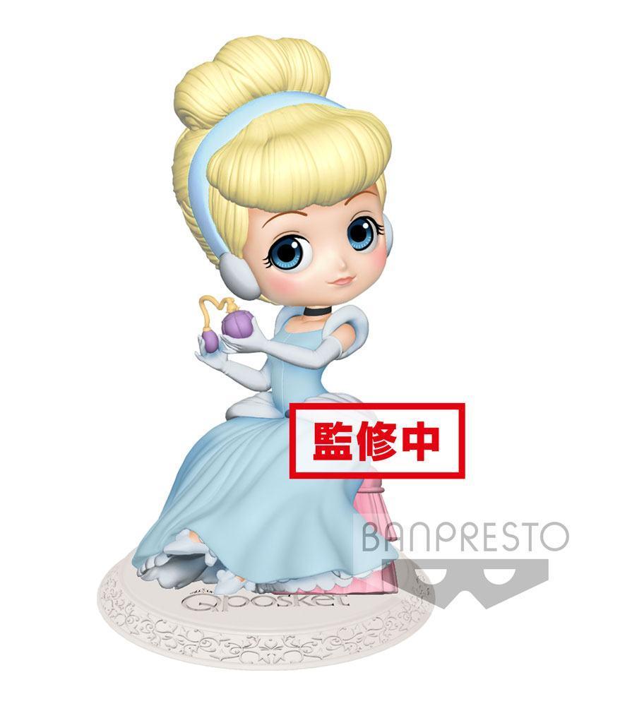 DISNEY - Q Posket Perfumagic Series - Cinderella - Vers. B - 12cm