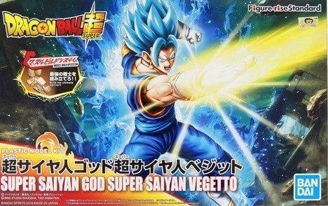DRAGON BALL - Model Kit - Super Saiyan God Super Saiyan Vegeta