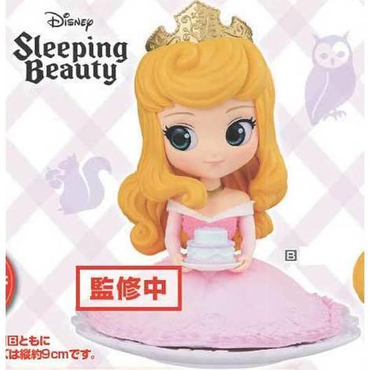 DISNEY - Q Posket SUGIRLY Princess Aurora Pastel Color Version - 9cm_1