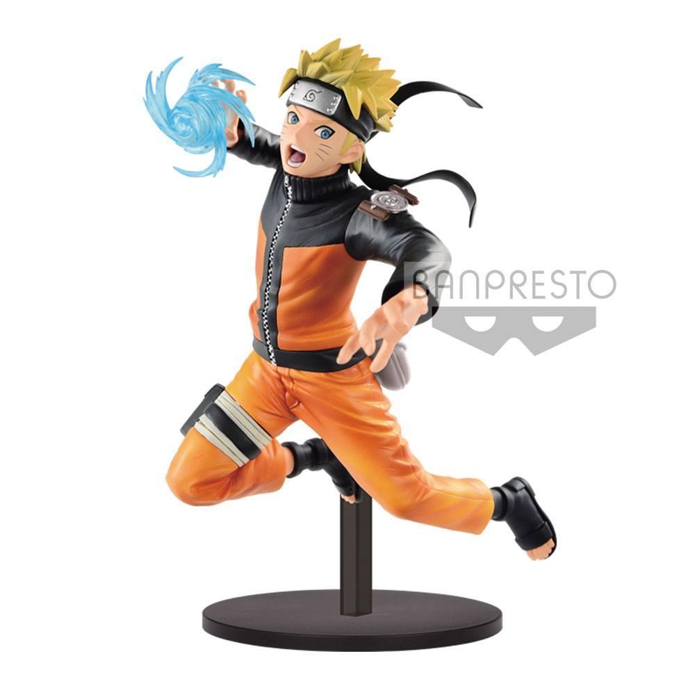 NARUTO SHIPPUDEM - Figurine Vibration Stars - Uzumaki Naruto - 17cm