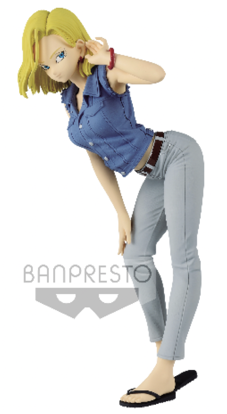 DRAGON BALL - Figurine Glitter & Glamours - Android 18 Vers. A - 23cm
