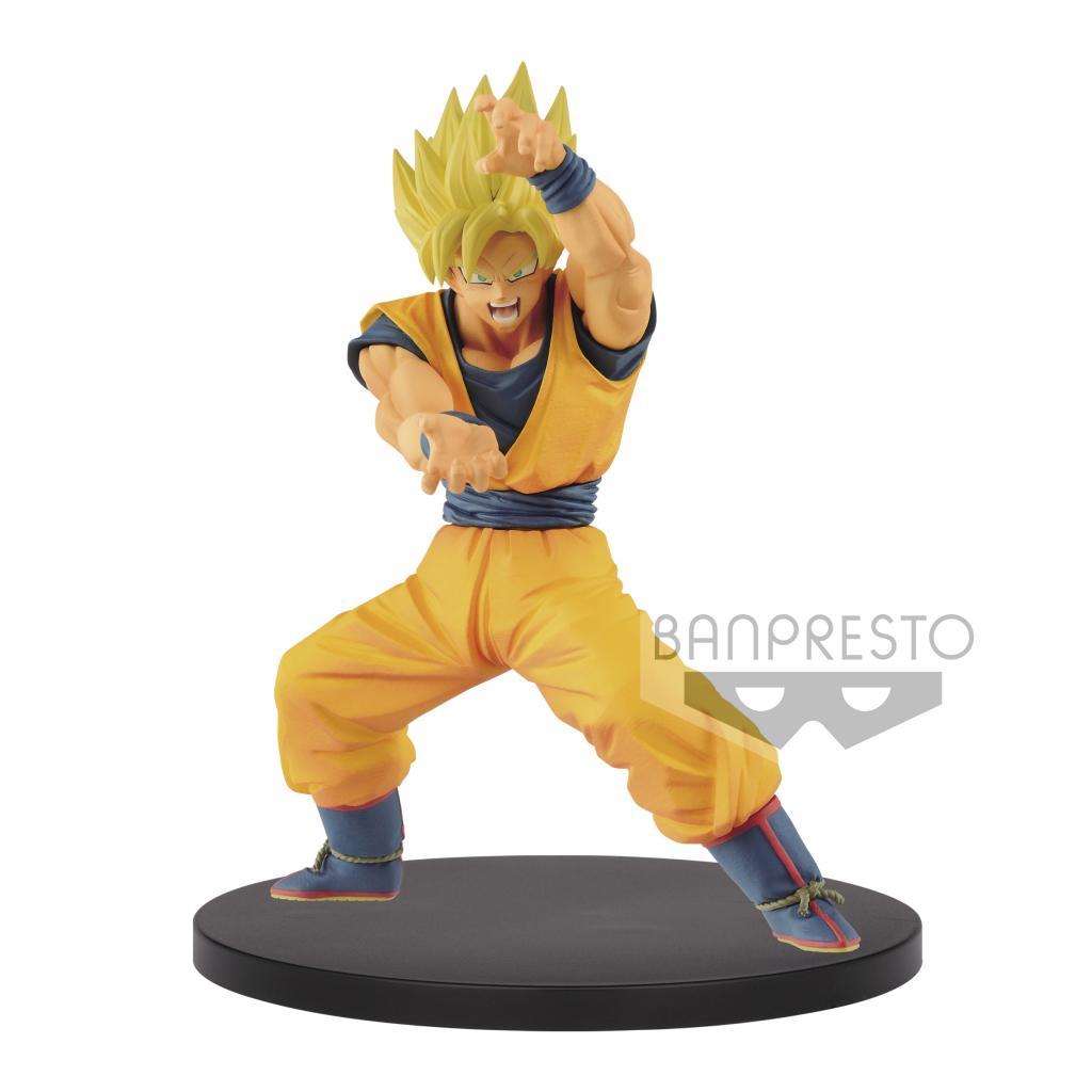 DRAGON BALL - Figurine Chosenshiretsuden Vol 1A - SS Goku - 16cm