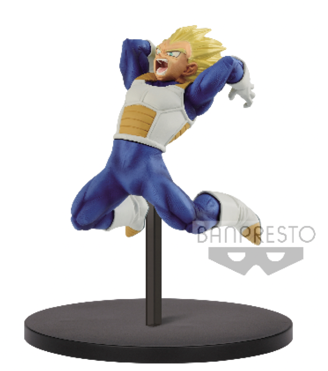 DRAGON BALL - Figurine Chosenshiretsuden Vol 1B - SS Vegeta - 13cm