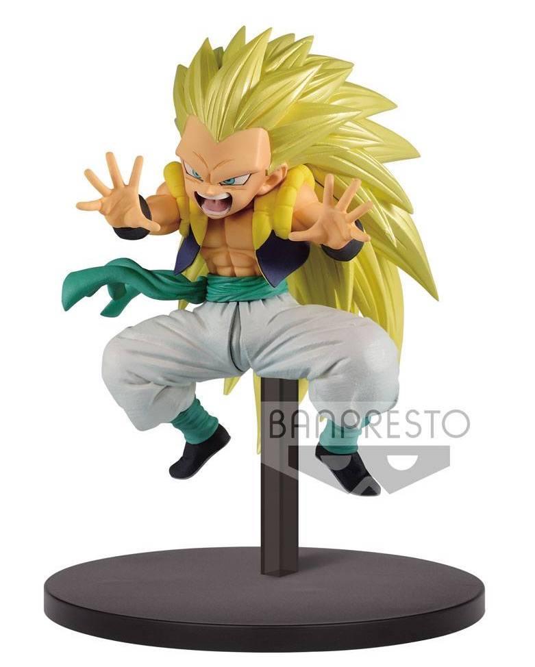 DRAGON BALL - Figurine Chosenshiretsuden Vol 2B - SS3 Gotenks - 10cm
