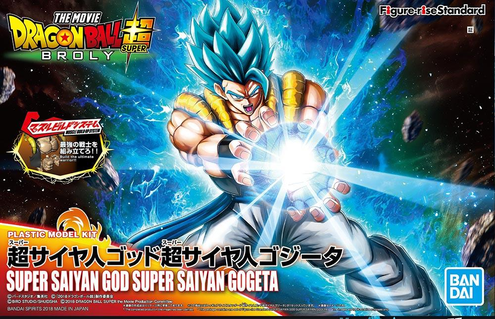 DRAGON BALL - Model Kit - Super Saiyan God Super Saiyan Gogeta