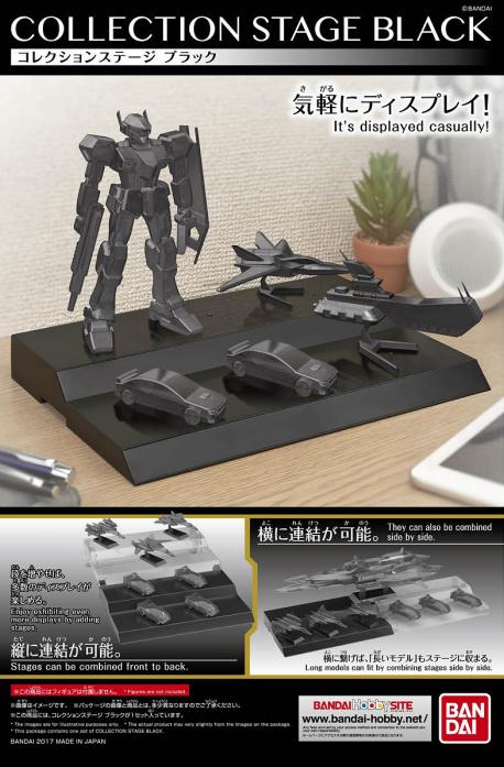 GUNDAM - Model Kit - COLLECTION STAGE BLACK