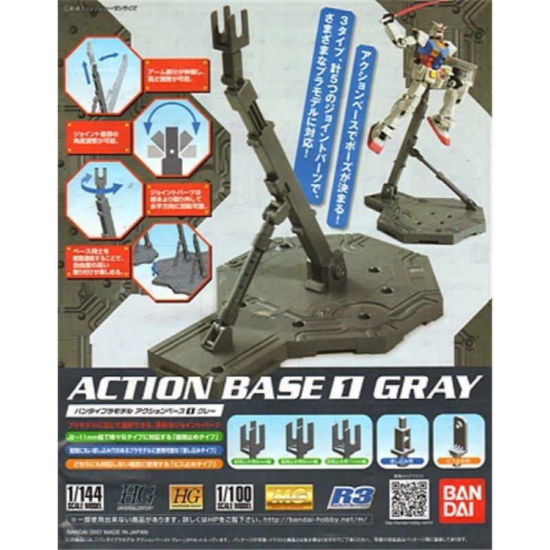 GUNDAM - Model Kit - ACTION BASE 1 GREY