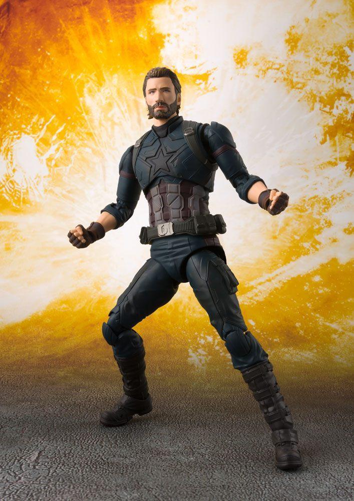 AVENGERS INFINITY WAR - Captain America Figuarts (Bandai)