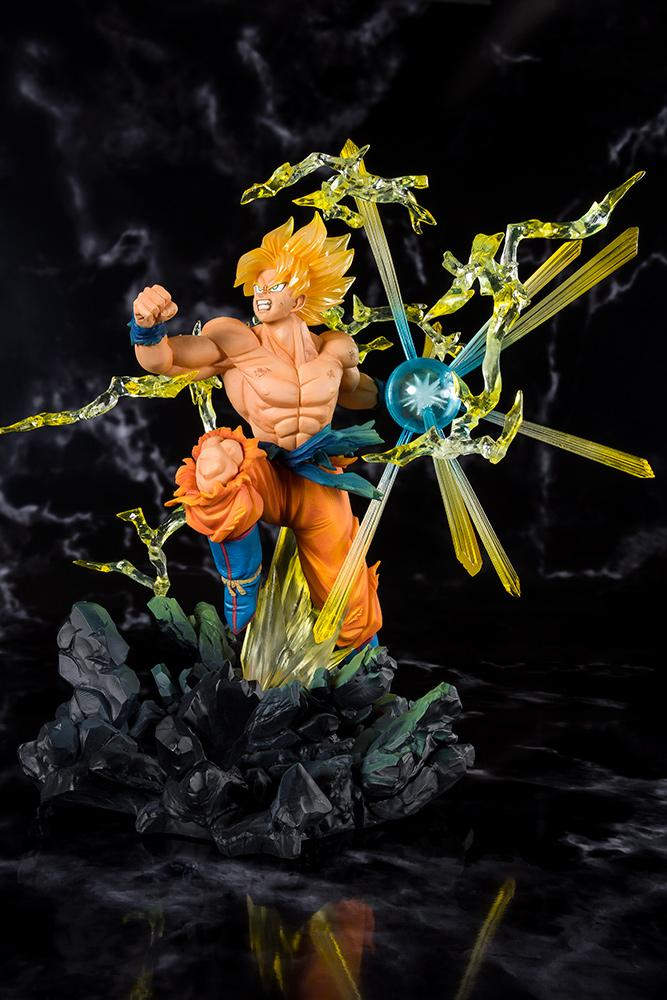 DRAGON BALL - Zero SS Son Gokou Burning Battle (Bandai)