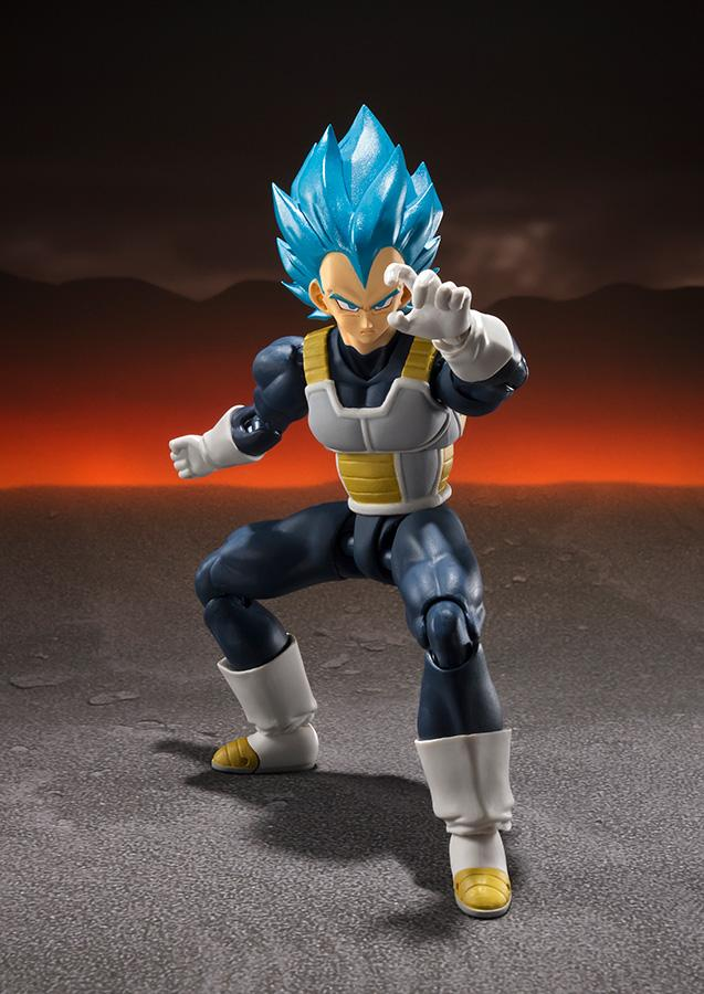 DRAGON BALL Z - Super Saiyan God SS Vegeta SH Figuarts (Bandai)_2