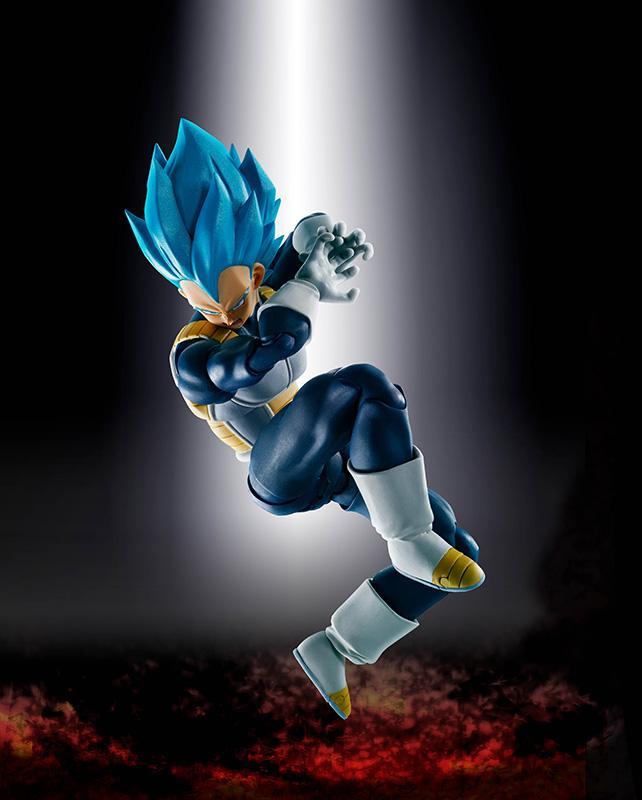 DRAGON BALL Z - Super Saiyan God SS Vegeta SH Figuarts (Bandai)_4