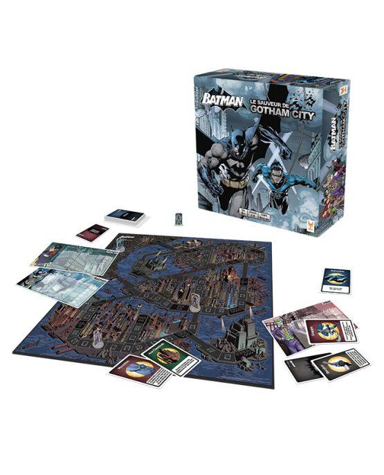 BATMAN - Le Jeu de Société - Le Sauveur de Gotham City