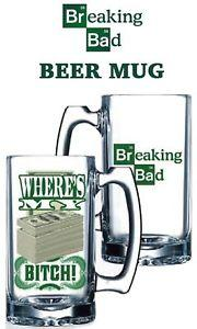 BREAKING BAD - Beer Mug - Money