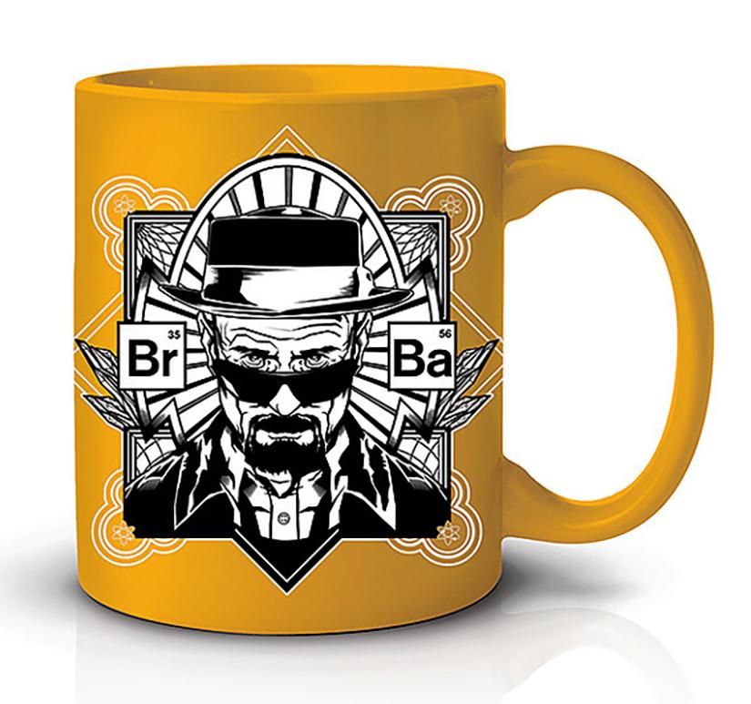 BREAKING BAD - Coffee Mug 600ml - Yellow Heisenberg