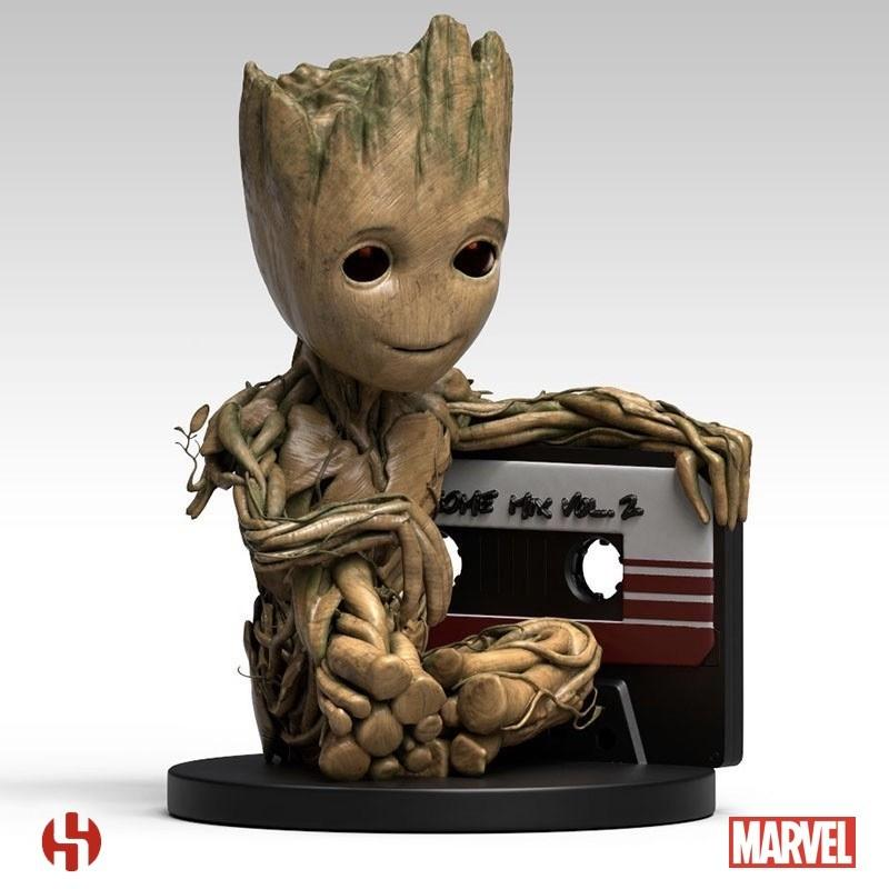 GUARDIANS OF THE GALAXY 2 - Tirelire - Baby Groot - 25cm_2