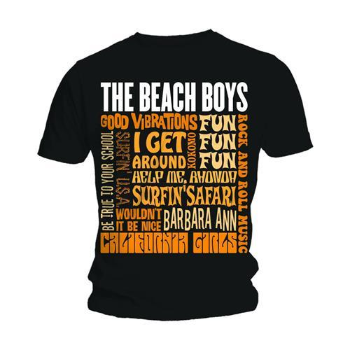 THE BEACH BOYS - T-Shirt - Best Of (L)