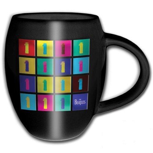 THE BEATLES - Oval Embossed Mug 450 ml - 1 Album Tiled