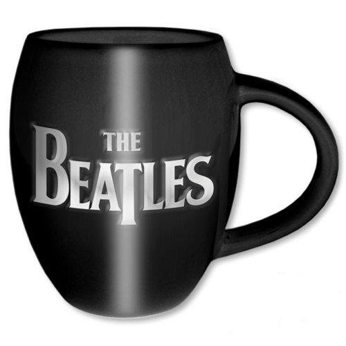 THE BEATLES - Oval Embossed Mug 450 ml - Drop T Logo & Apple