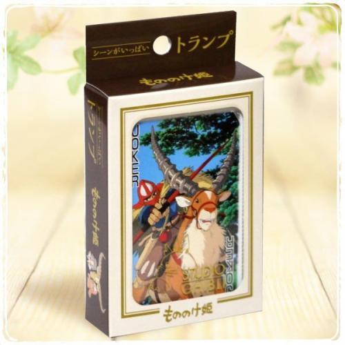 GHIBLI - Princesse Mononoke - Jeu de cartes à jouer (54 cartes)