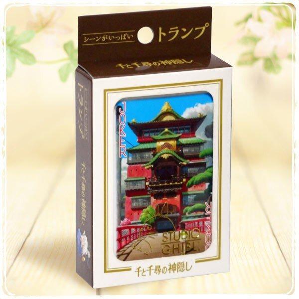 GHIBLI - Le voyage de Chihiro - Jeu de cartes à jouer (54 cartes)_1