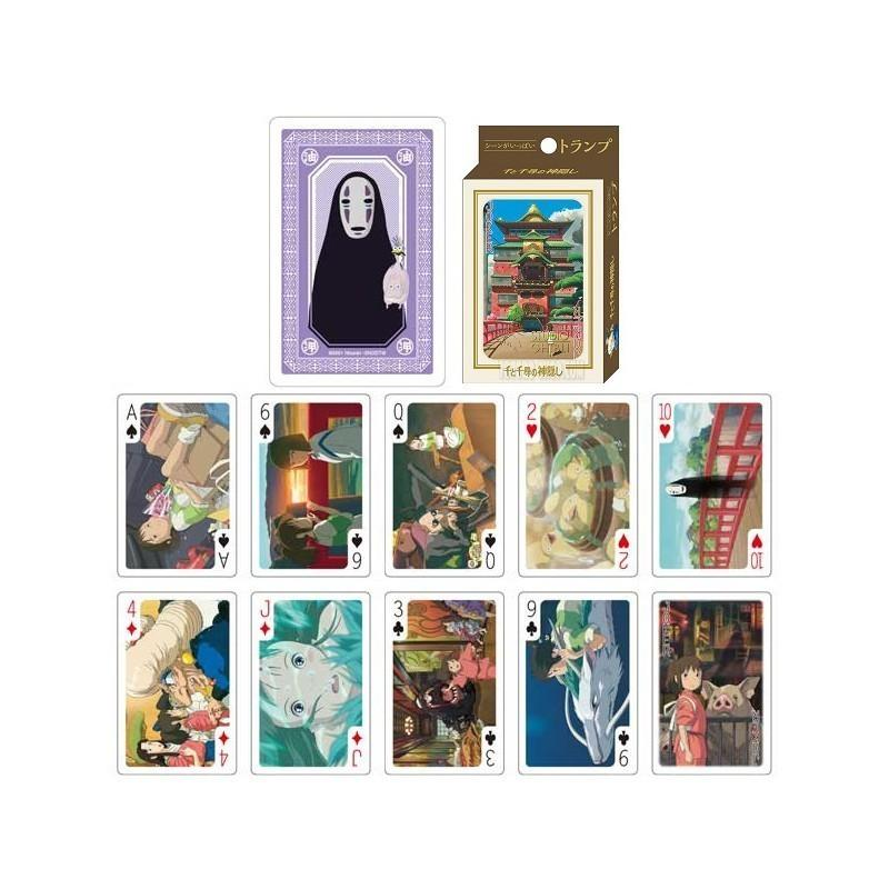 GHIBLI - Le voyage de Chihiro - Jeu de cartes à jouer (54 cartes)_2