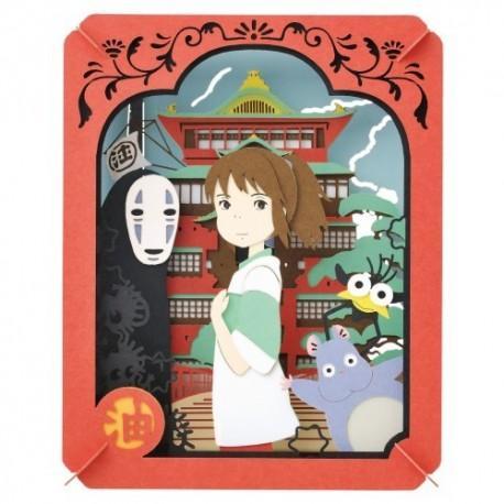 GHIBLI - Le voyage de Chihiro - Théâtre de papier 8x10x4cm