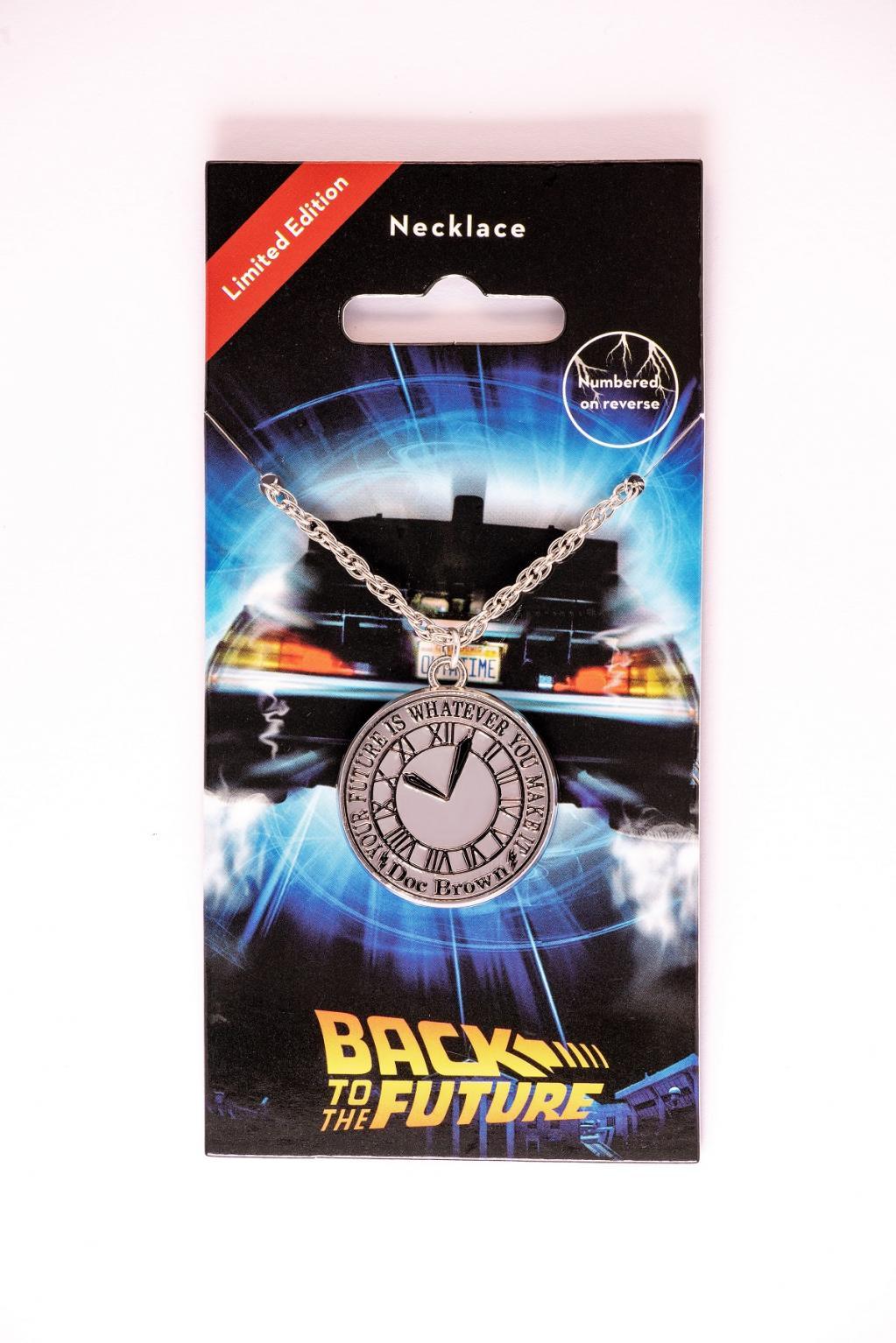 RETOUR VERS LE FUTUR - Clock Tower - Collier édition limitée_1
