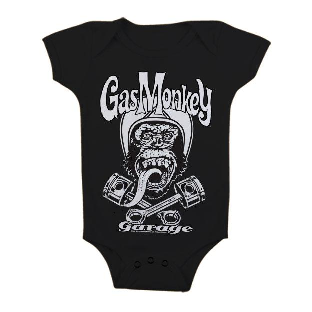 GAS MONKEY GARAGE - Baby Body Biker (12 Month)