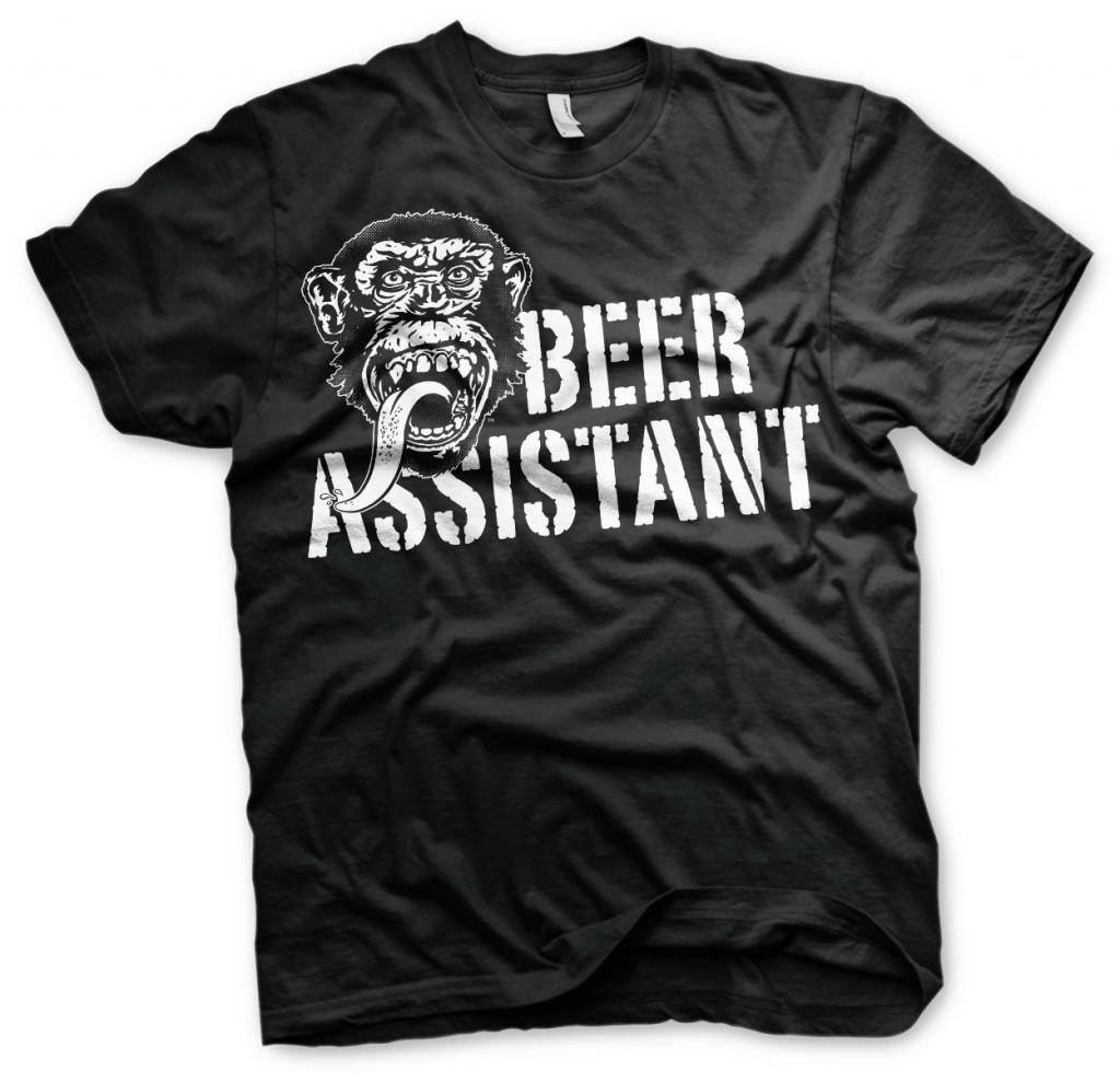 GAS MONKEY - T-Shirt Beer Assistant - Black (10 Years)