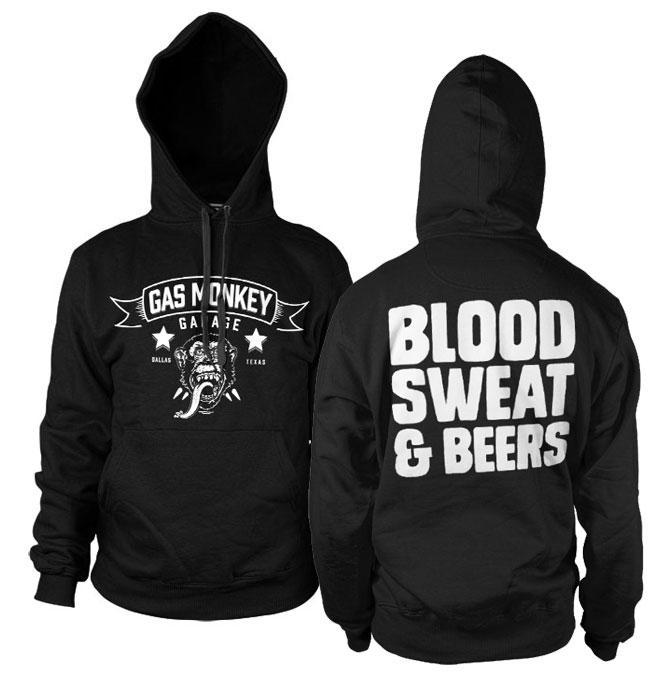 GAS MONKEY - Sweatshirt Blood Sweat and Beers (L)
