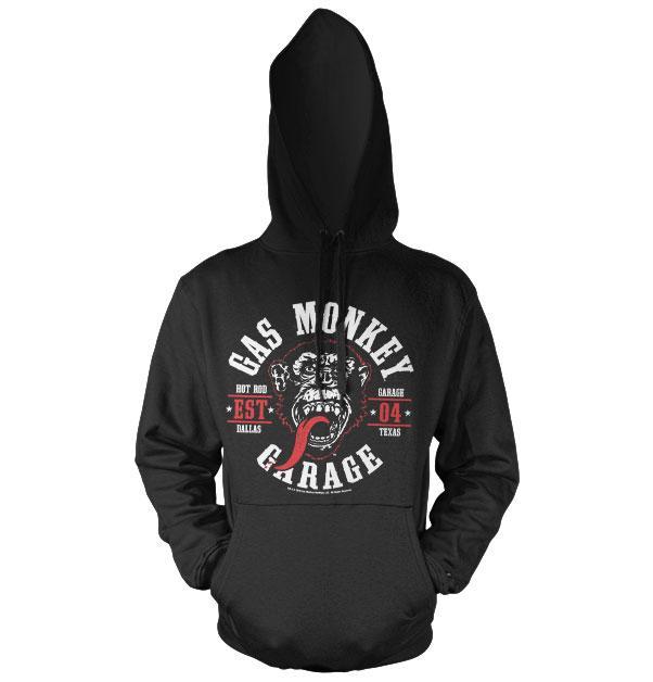 GAS MONKEY - Sweat Hoodie - Round Seal (L)