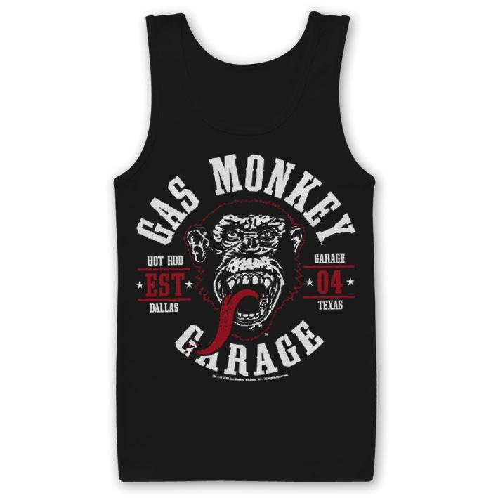 GAS MONKEY GARAGE - Débardeur Round Seal (L)