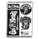 GAS MONKEY - Official Gas Monkey Garage Stickers - 20x30Cm