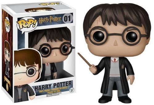 HARRY POTTER - Bobble Head POP N° 01 - Harry Potter