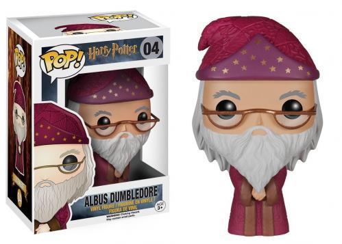 HARRY POTTER - Bobble Head POP N° 04 - Albus Dumbledore
