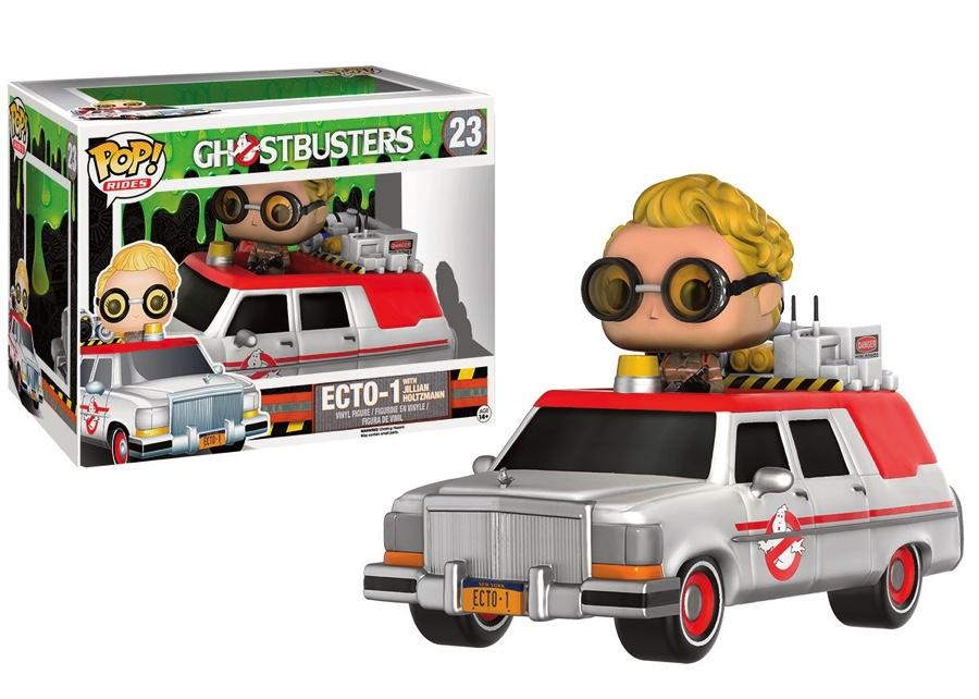 GHOSTBUSTERS 2016 - Bobble Head POP RIDES N° 23 - Ecto-1 and Holtzmann