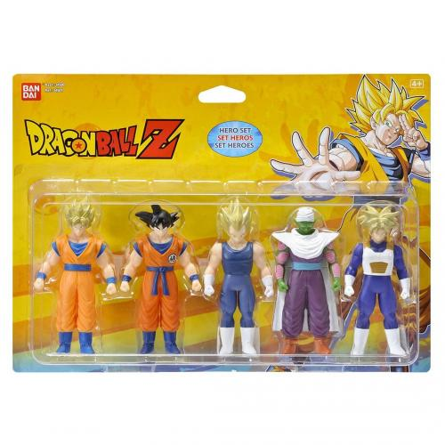 DRAGON BALL - Pack de 5 figurines DBZ héros 10cm