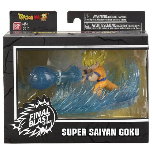 DRAGON BALL - Super Saiyan Goku - Figurine Final Blast 9cm