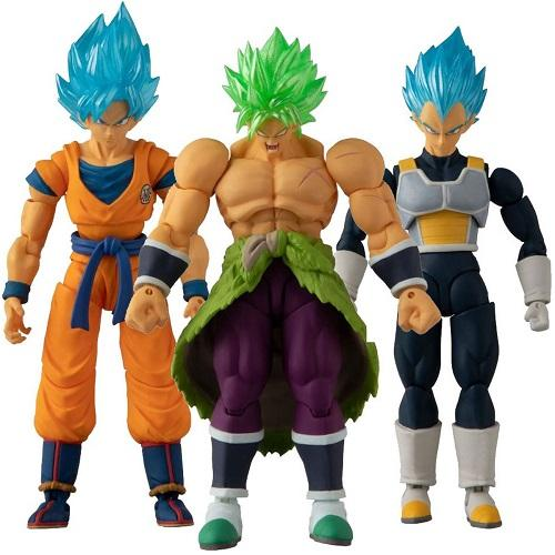 DRAGON BALL - Pack de 3 figurines Evolution 12cm