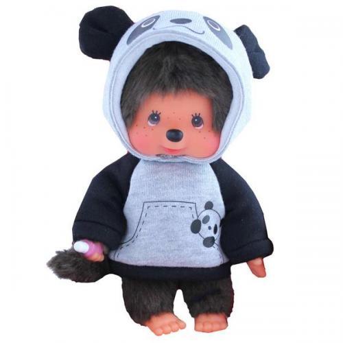 MONCHHICHI - Panda - Peluche 20cm