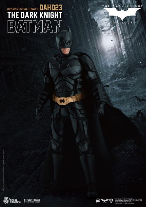 DC COMICS - Dark Knight Trilogy - Figurine DynamicActionHero 21cm