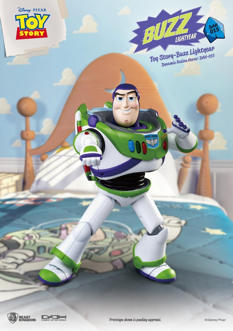 TOY STORY - Figurine Dynamic Action Heroes - Buzz L'Eclair - 20cm_1