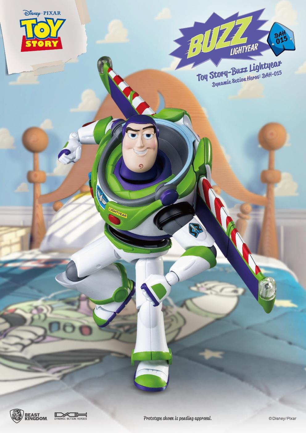 TOY STORY - Figurine Dynamic Action Heroes - Buzz L'Eclair - 20cm_2