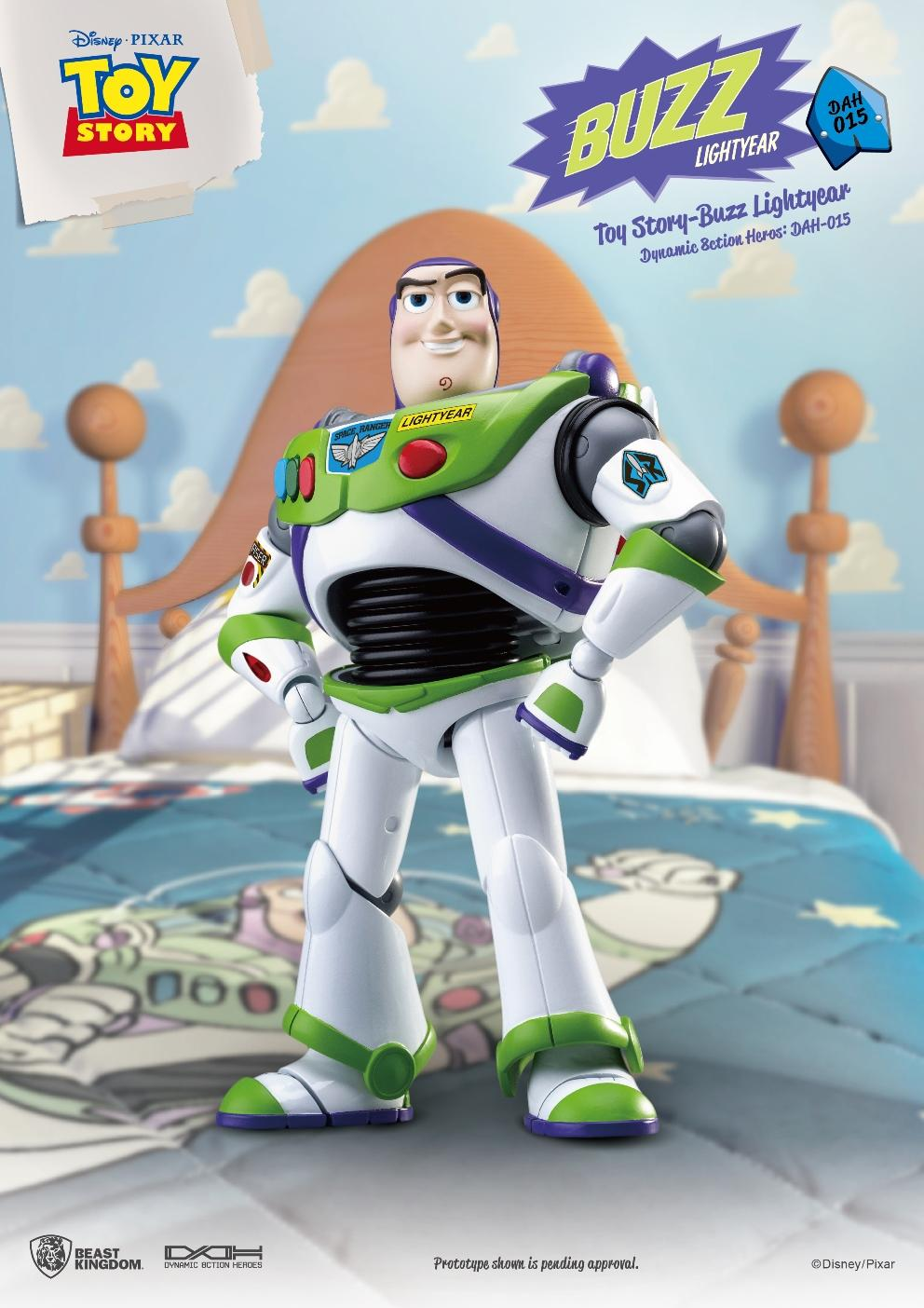 TOY STORY - Figurine Dynamic Action Heroes - Buzz L'Eclair - 20cm_3