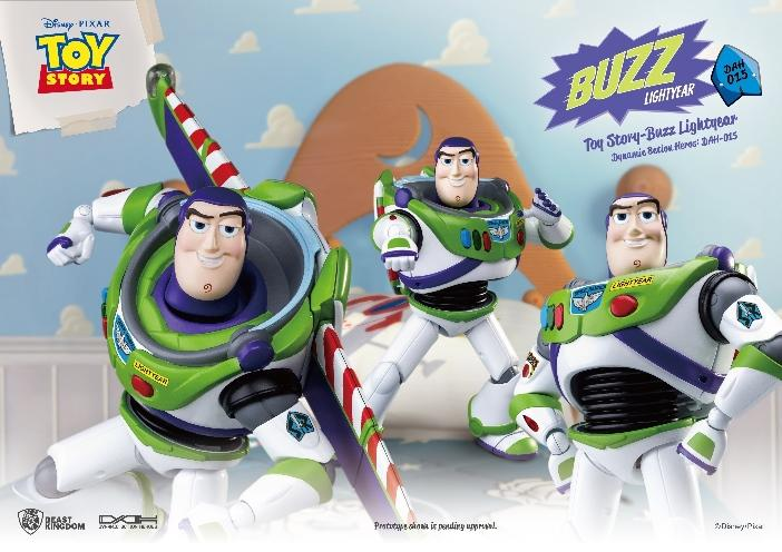 TOY STORY - Figurine Dynamic Action Heroes - Buzz L'Eclair - 20cm_4