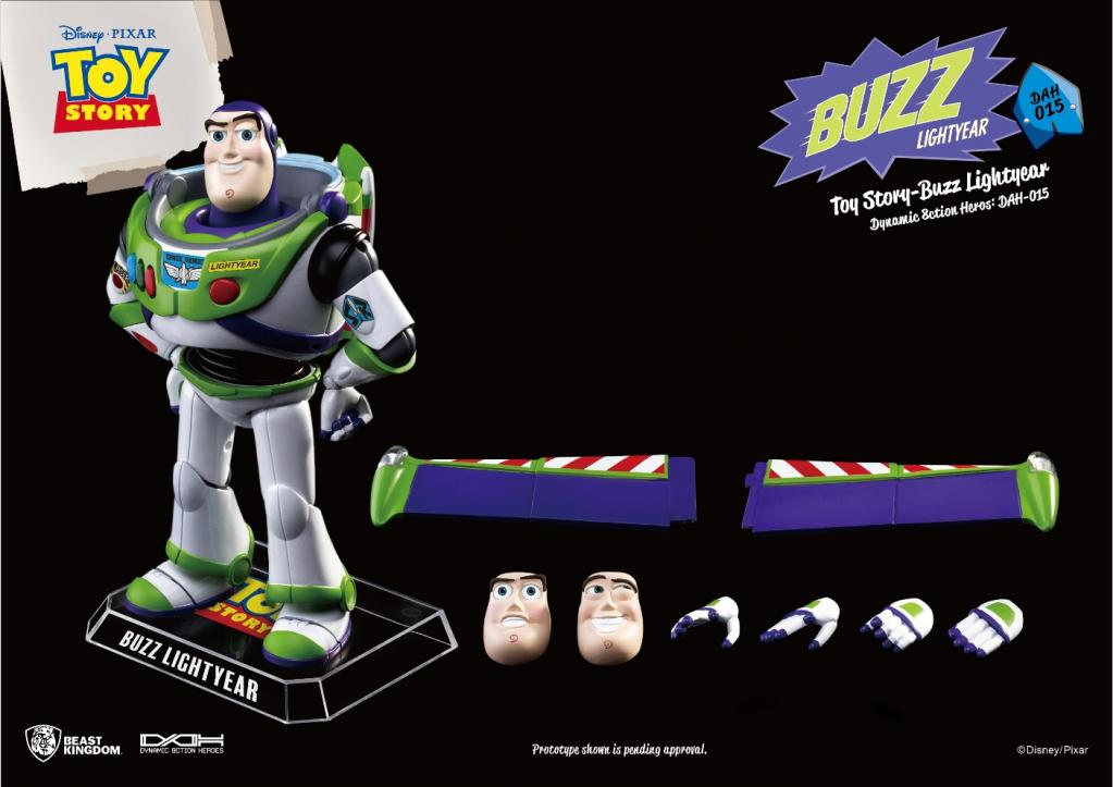 TOY STORY - Figurine Dynamic Action Heroes - Buzz L'Eclair - 20cm_5